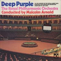 Cover Deep Purple / The Royal Philharmonic Orchestra - In Live Concert At The Royal Albert Hall