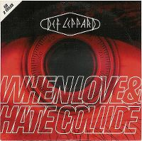 Cover Def Leppard - When Love & Hate Collide