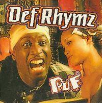 Cover Def Rhymz - Schudden