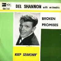 Cover Del Shannon - Broken Promises