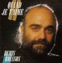 Cover Demis Roussos - Quand je t'aime