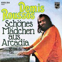 Cover Demis Roussos - Schönes Mädchen aus Arcadia