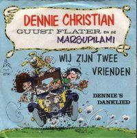 Cover Dennie Christian, Guust Flater en de Marsupilami - Wij zijn twee vrienden