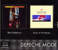 Cover Depeche Mode - Black Celebration + Music For The Masses