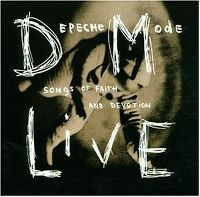 Cover Depeche Mode - Songs Of Faith And Devotion Live