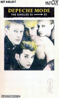 Cover Depeche Mode - The Singles 81>85