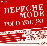 Cover Depeche Mode - Told You So