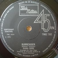 Cover Diana Ross - Surrender