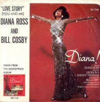 Cover Diana Ross & Bill Cosby - Love Story
