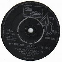 Cover Diana Ross & Marvin Gaye - My Mistake (Was To Love You)