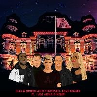 Cover Diaz & Bruno And F1rstman feat. I Am Aisha & Kempi - Love Sensez