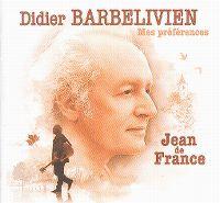 Cover Didier Barbelivien - Jean de France