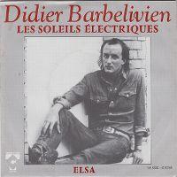 Cover Didier Barbelivien - Les soleils électriques