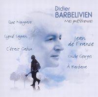 Cover Didier Barbelivien - Mes préférences