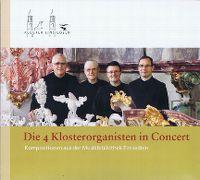 Cover Die 4 Klosterorganisten - Die 4 Klosterorganisten in Concert - Kompositionen aus der Musikbibliothek Einsiedeln