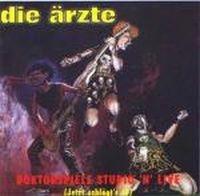 Cover Die Ärzte - Doktorspiele Studio'n'Live
