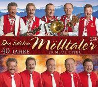Cover Die Fidelen Mölltaler - 40 Jahre - 20 neue Titel