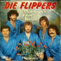 Cover Die Flippers - Die Nacht der tausend Rosen