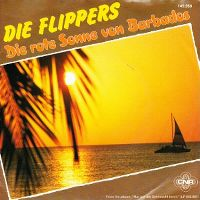 Cover Die Flippers - Die rote Sonne von Barbados