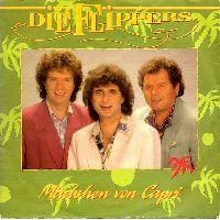 Cover Die Flippers - Mädchen von Capri