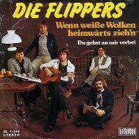 Cover Die Flippers - Wenn weiße Wolken heimwärts zieh'n
