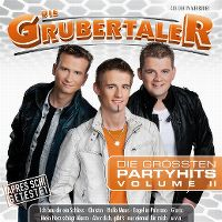 Cover Die Grubertaler - Die grössten Partyhits Volume II