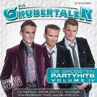 Cover Die Grubertaler - Die grössten Partyhits Volume IV