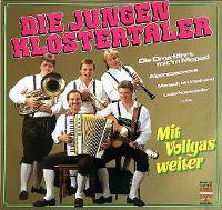 Cover Die Jungen Klostertaler - Mit Vollgas weiter