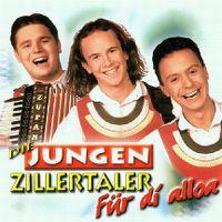 Cover Die Jungen Zillertaler - Für di alloa