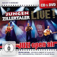 Cover Die Jungen Zillertaler - Live! Juzi Open Air