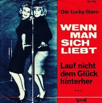 Cover Die Lucky-Stars - Wenn man sich liebt