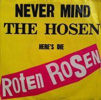 Cover Die Roten Rosen - Im Wagen vor mir