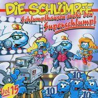 Cover Die Schlümpfe - Schlumpfhausen sucht den Superschlumpf - Vol. 15