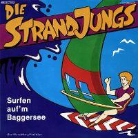 Cover Die Strandjungs - Surfen auf'm Baggersee
