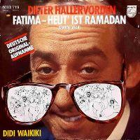 Cover Dieter Hallervorden - Fatima - Heut' ist Ramadan