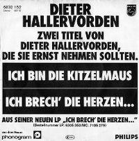 Cover Dieter Hallervorden - Ich bin die Kitzelmaus