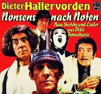 Cover Dieter Hallervorden - Nonsens nach Noten