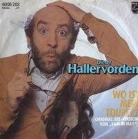 Cover Dieter Hallervorden - Wo ist mein Toupet?