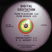 Cover Digital Excitation - Pure Pleasure