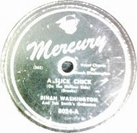 Cover Dinah Washington - A Slick Chick (On The Mellow Side)
