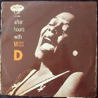Cover Dinah Washington - After Hours With Miss D.