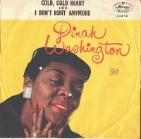 Cover Dinah Washington - Cold Cold Heart