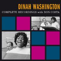 Cover Dinah Washington - Complete Recordings With Don Costa