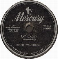 Cover Dinah Washington - Fat Daddy