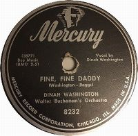 Cover Dinah Washington - Fine Fine Daddy