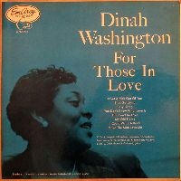 Cover Dinah Washington - For Those In Love