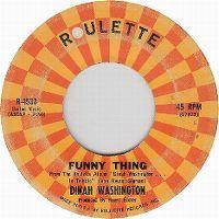 Cover Dinah Washington - Funny Thing