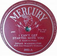 Cover Dinah Washington - I Can't Get Started With You