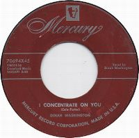 Cover Dinah Washington - I Concentrate On You