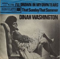 Cover Dinah Washington - I'll Drown In My Own Tears